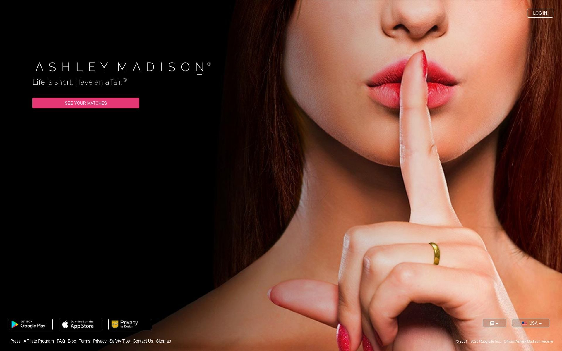 Ashley Madison Online Dating Post Thumbnail