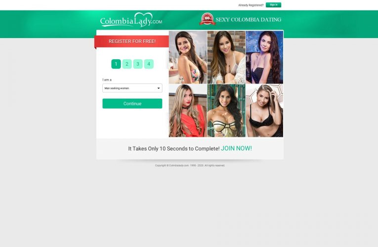 Colombia Lady Site Review